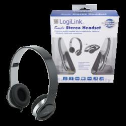Logilink - headset - sort