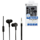 Logilink stereo in-ear earphones, waterproof with microphone