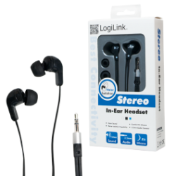 Logilink stereo in-ear earphones