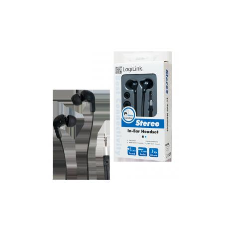 Logilink stereo in-ear earphones
