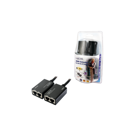 Logilink hdmi extender via cat5 cable up to 30m