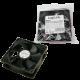 Logilink fan 120x120x25, 12v 2500+-10% rpm, black fan 120x120x25
