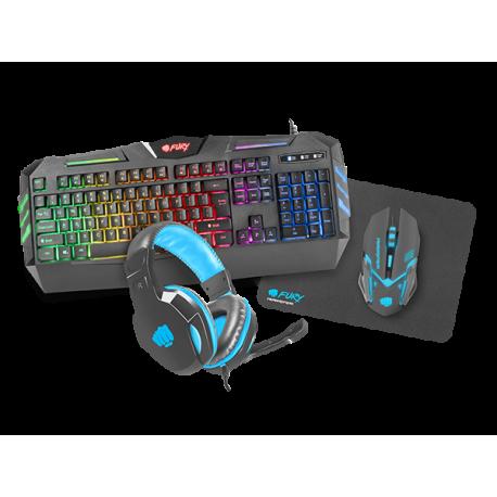 Gamer ting - Keyboard, hovedtelefon og mus